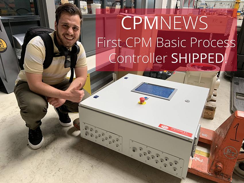 CPM NEWS: First CPM Basic Process Controller SHIPPED!