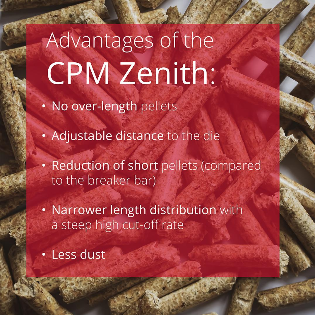 CPM Zenith: Pellet Length Control for Pellet Mill 7932-5